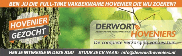 Vacature Derwort Hoveniers